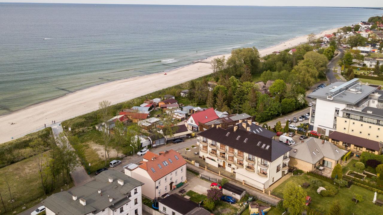 Pensjonat Słoneczna Rafa - zdjęcie z powietrza